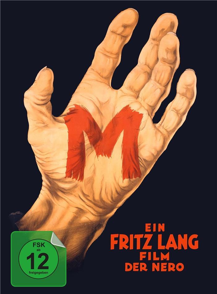 M - Eine Stadt sucht einen Mörder (1931) (s/w, Limited Edition, Mediabook, Blu-ray + DVD)