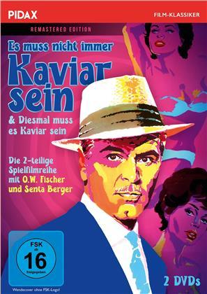 Es muss nicht immer Kaviar sein / Diesmal muss es Kaviar sein (Pidax Film-Klassiker, 2 DVDs)