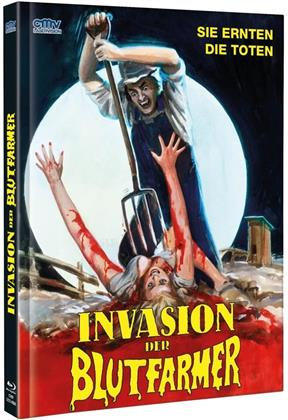 Invasion der Blutfarmer (1972) (Cover A, Limited Edition, Mediabook, Uncut, Blu-ray + DVD)