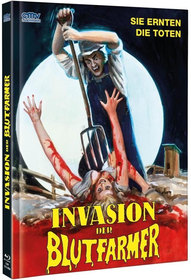 Invasion der Blutfarmer (1972) (Cover A, Limited Edition, Mediabook, Uncut, Blu-ray + DVD)