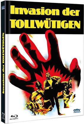 Invasion der Tollwütigen (1972) (Cover B, Limited Edition, Mediabook, Uncut, Blu-ray + DVD)