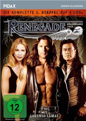 Renegade - Gnadenlose Jagd - Staffel 1 (Pidax Serien-Klassiker, 4 DVDs)