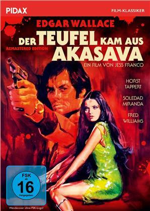 Der Teufel kam aus Akasava - Edgar Wallace (1971) (Pidax Film-Klassiker)