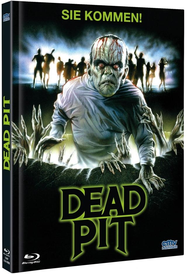 Dead Pit (1989) (Cover B, Limited Edition, Mediabook, Uncut, Blu-ray + DVD)