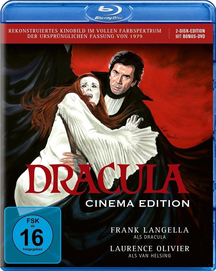 Dracula (1979) (Cinema Edition, Blu-ray + DVD)