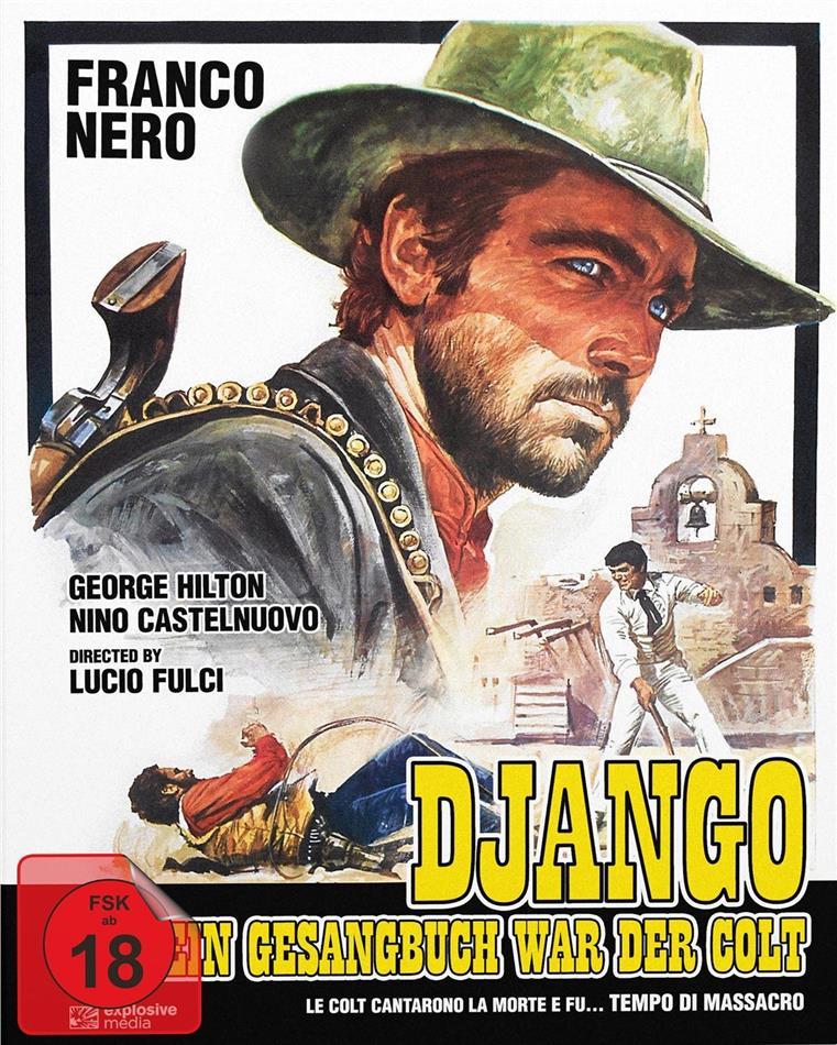 Django - Sein Gesangbuch war der Colt (1966) (Cover B, Edizione Limitata, Mediabook, Blu-ray + DVD)