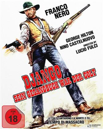 Django - Sein Gesangbuch war der Colt (1966) (Cover A, Edizione Limitata, Mediabook, Blu-ray + DVD)