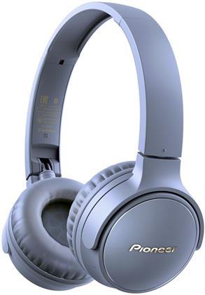 Pioneer SE-S3BT-L OnEar Wireless Headset - blue
