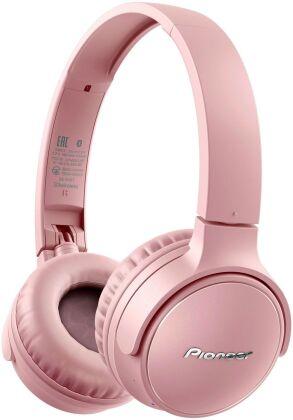 Pioneer SE-S3BT-P OnEar Wireless Headset - pink