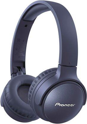 Pioneer SE-S6BN-L OnEar Wireless Headset - blue