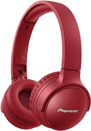 Pioneer SE-S6BN-R OnEar Wireless Headset - red