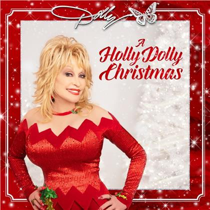 Dolly Parton - A Holly Dolly Christmas (Opaque Red Vinyl, LP)