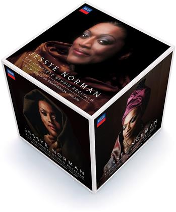 Jessye Norman - Complete Studio Recitals - Philips, DG, Decca (Limited Edition, 42 CDs)