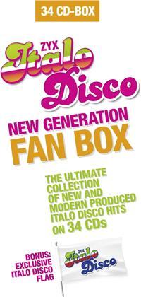 Italo Disco New Generation Fan Box (Boxset, 34 CDs)