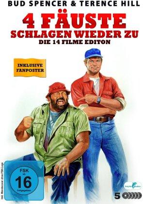 Bud Spencer & Terence Hill - 4 Fäuste schlagen wieder zu! - Die 15 Filme Edition (5 DVDs)