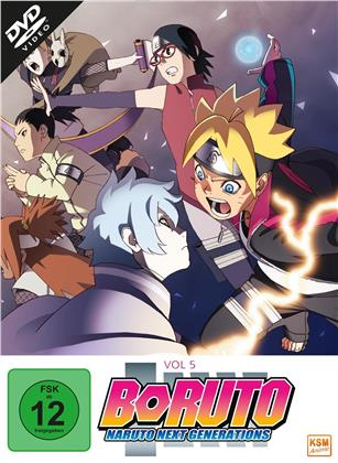 Boruto: Naruto Next Generations - Vol. 5 - Episode 71-92 (3 DVDs)