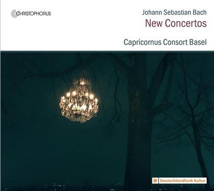 Capricornus Consort Basel & Johann Sebastian Bach (1685-1750) - New Concertos