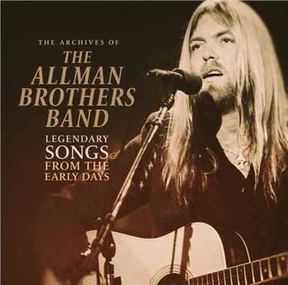 The Allman Brothers Band - The Archives Of / Legendary Songs From The Early Days (LP)