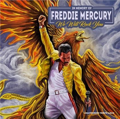 Queen - We Will Rock You / In Memory Of Freddie Mercury (Yellow Vinyl, LP)