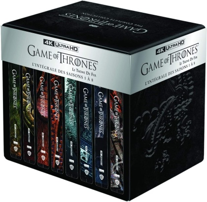 Game of Thrones - La Série Complète - Saisons 1-8 (Edizione Limitata, Steelbook, 33 4K Ultra HDs)