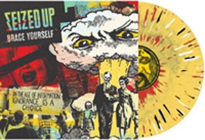 Seized Up - Brace Yourself (Mustard/Clear Splatter Vinyl, LP)