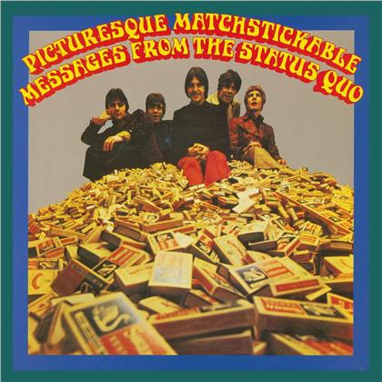 Status Quo - Pictuersque Matchstickable Messages From The Status Quo (Mono & Stereo) (Music On Vinyl, 2020 Reissue, Limited Edition, Colored, 2 LPs)