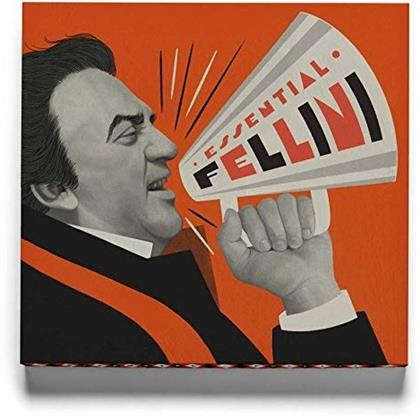 Essential Fellini (Criterion Collection, 15 Blu-ray)