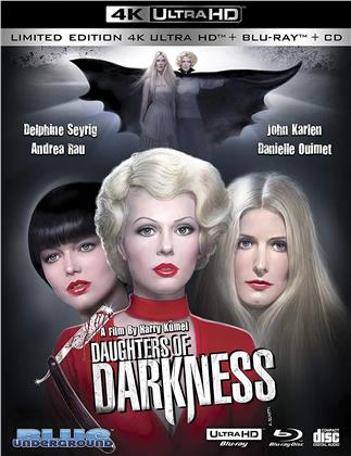 Daughters Of Darkness (1971) (Limited Edition, 4K Ultra HD + Blu-ray + CD)