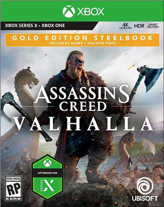 Assassins Creed Valhalla (Steelbook Gold Edition)