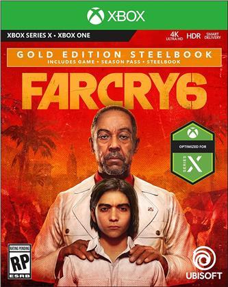 Far Cry 6 (Steelbook Gold Edition)