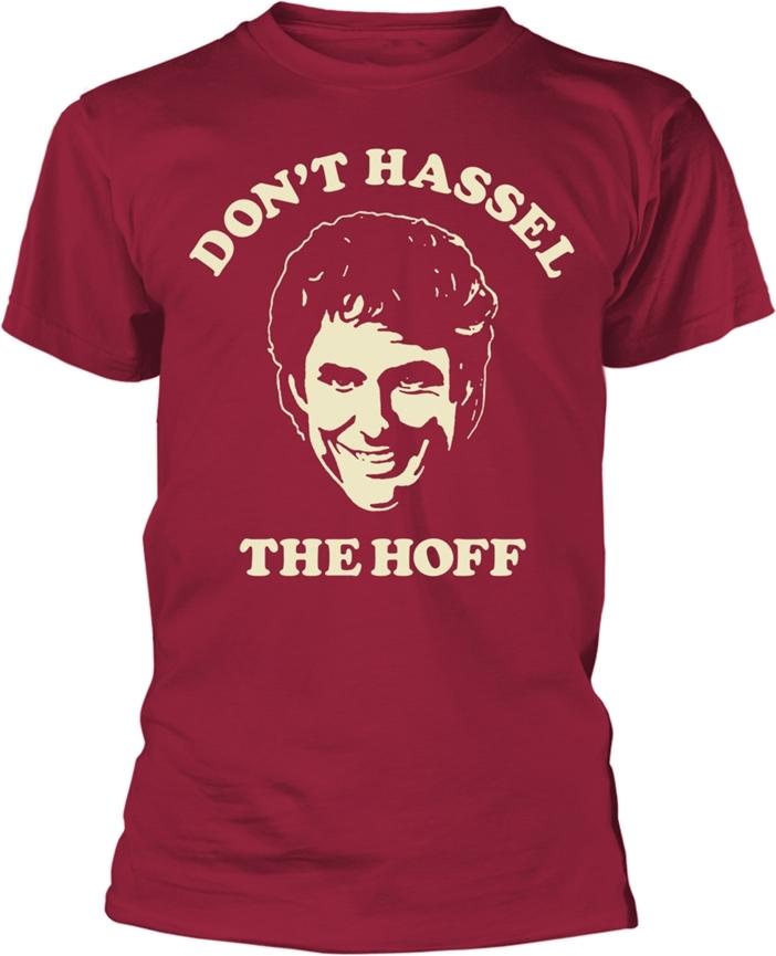 David Hassselhoff - Don't Hassel (Cherry Red) - Grösse M