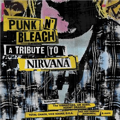 Punk N' Bleach - A Punk Tribute To Nirvana (Limited Edition, Colored, LP)
