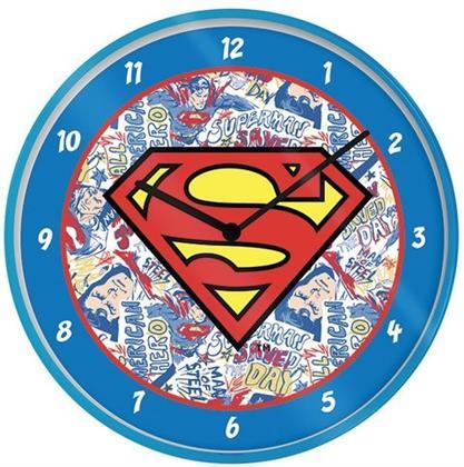 """Dc Comics - Superman Logo 10"""" Wall Clock"""