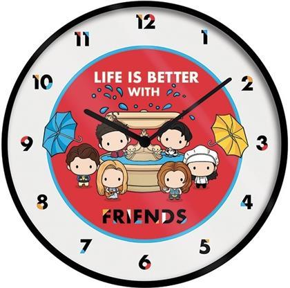 "Friends - Friends Chibi 10"" Wall Clock"