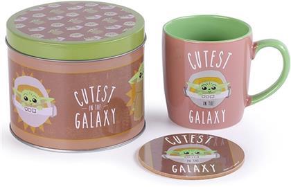 Star Wars The Mandalorian: Cutest in the Galaxy - Mug, Coaster & Tin