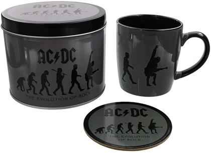 AC/DC: The Evolution of Rock - Mug, Coaster & Tin