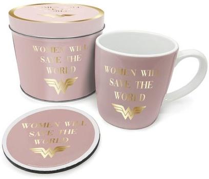 Dc Comics - Wonder Woman (Mug. Coaster & Tin)