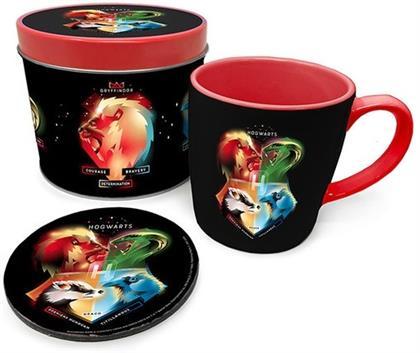 Harry Potter: Hogwarts - Mug, Coaster & Tin