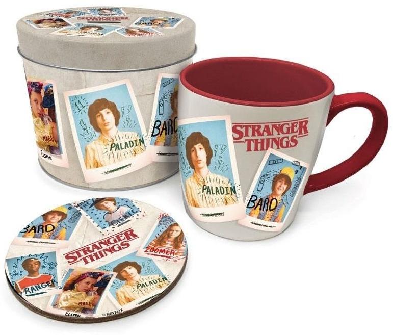 Stranger Things - Mug, Coaster & Tin