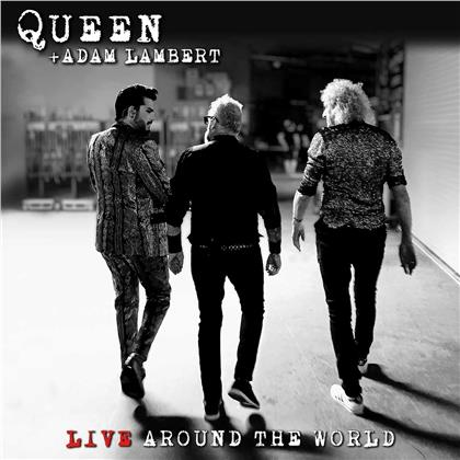 Queen & Adam Lambert (Queen/American Idol) - Live Around The World (2 LPs)