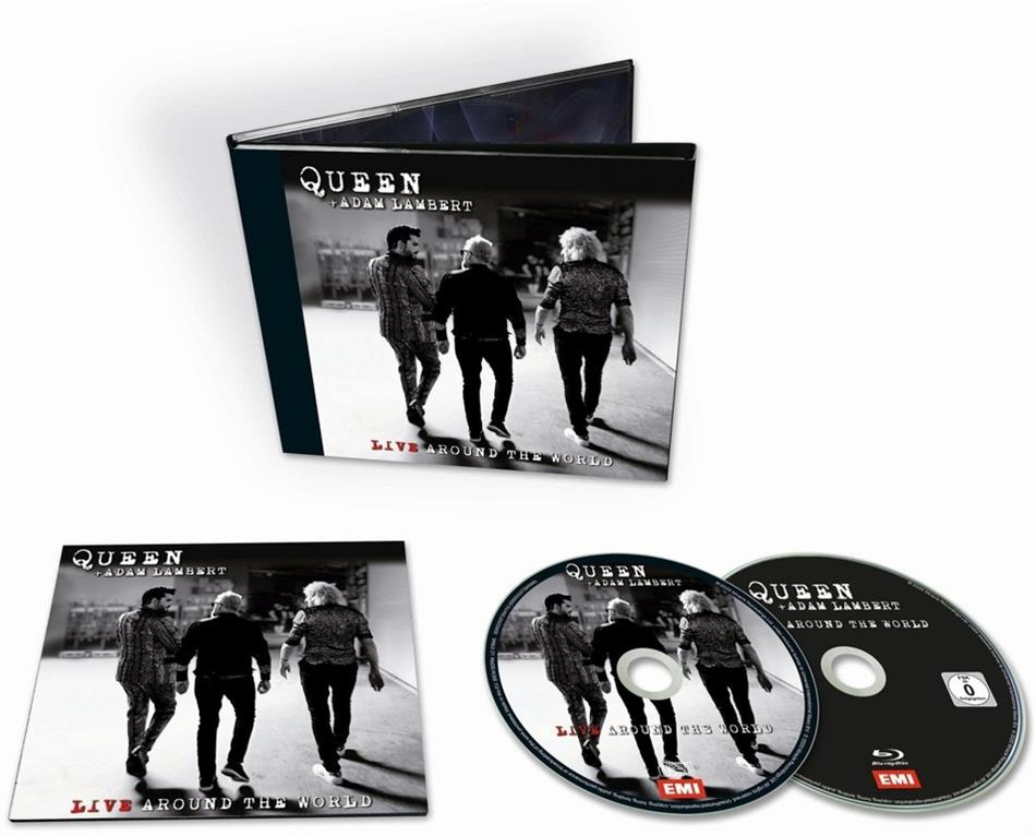 Queen & Adam Lambert (Queen/American Idol) - Live Around The World (CD + Blu-ray)