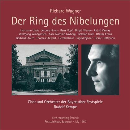 Chor und Orchester der Bayreuther Festspiele, Richard Wagner (1813-1883), Rudolf Kempe, Hermann Uhde, Jerome Hines, … - Der Ring Des Nibelungen (12 CDs)