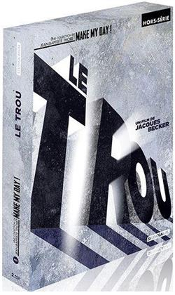 Le trou (1960) (Make My Day! Collection, Schuber, Digibook, 2 Blu-rays + Buch)