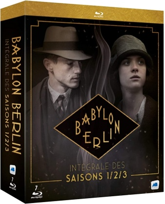 Babylon Berlin - Saisons 1-3 (7 Blu-rays)