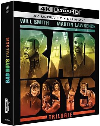 Bad Boys - La Trilogie - Bad Boys for Life / Bad Boys 2 / Bad Boys (3 4K Ultra HDs + 3 Blu-ray)