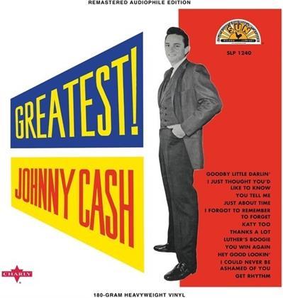 Johnny Cash - Greatest (Limited Edition, White Vinyl, LP)