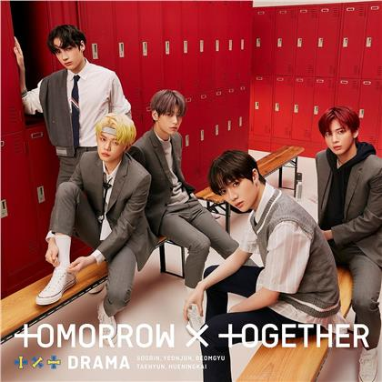 "Tomorrow X Together (TXT) (K-Pop) - Drama (""B"" Version, Black Version, Edizione Limitata, CD + DVD)"