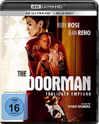The Doorman - Tödlicher Empfang (2020) (4K Ultra HD + Blu-ray)