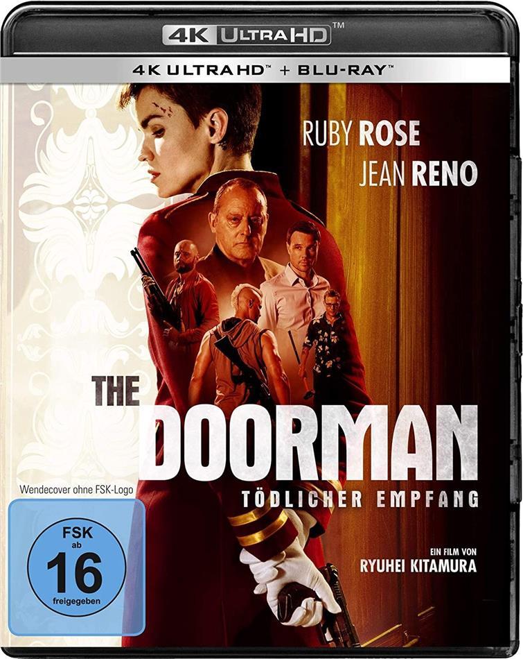 The Doorman - Tödlicher Empfang (2020) (4K Ultra HD + Blu-ray)