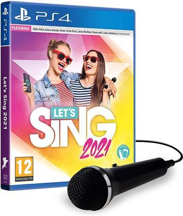 Let's Sing 2021 + 2 Mics